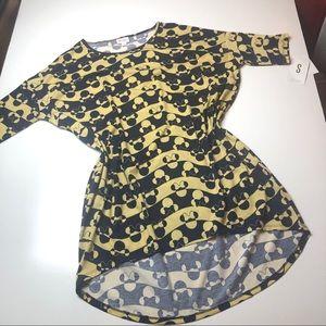 NWT LuLaRoe S Irma tunic Minnie Mouse